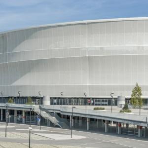 Budynek stadionu. Fot. Stadion Wrocław.