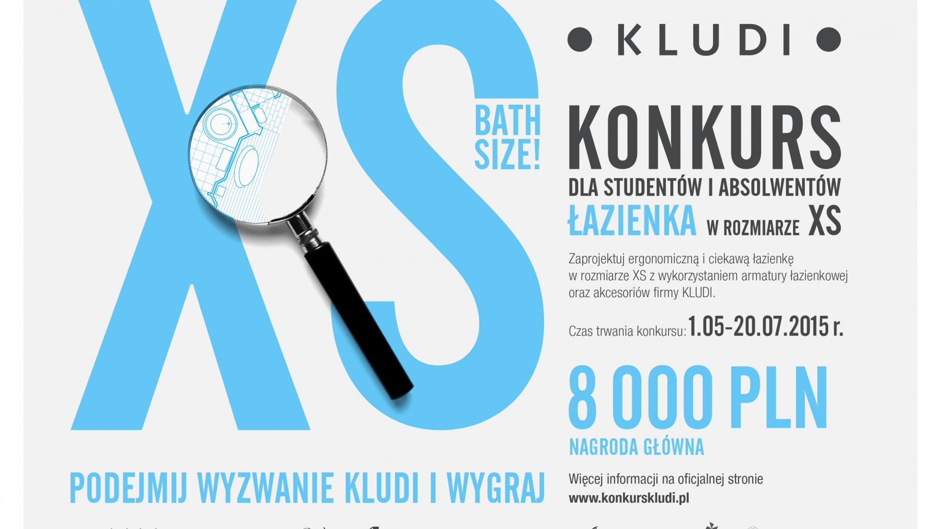 Plakat konkursowy. Fot. Materiały prasowe organizatora