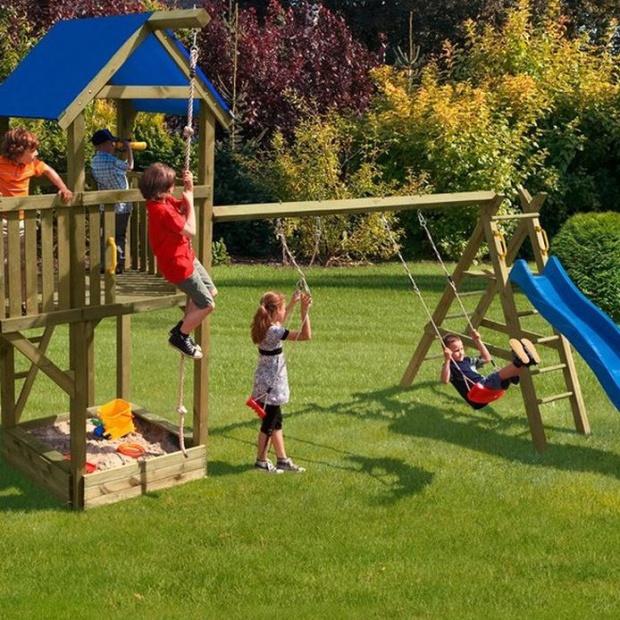 Aranżacja ogrodu. Zobacz jak zaplanować miejsce zabaw dla dzieci