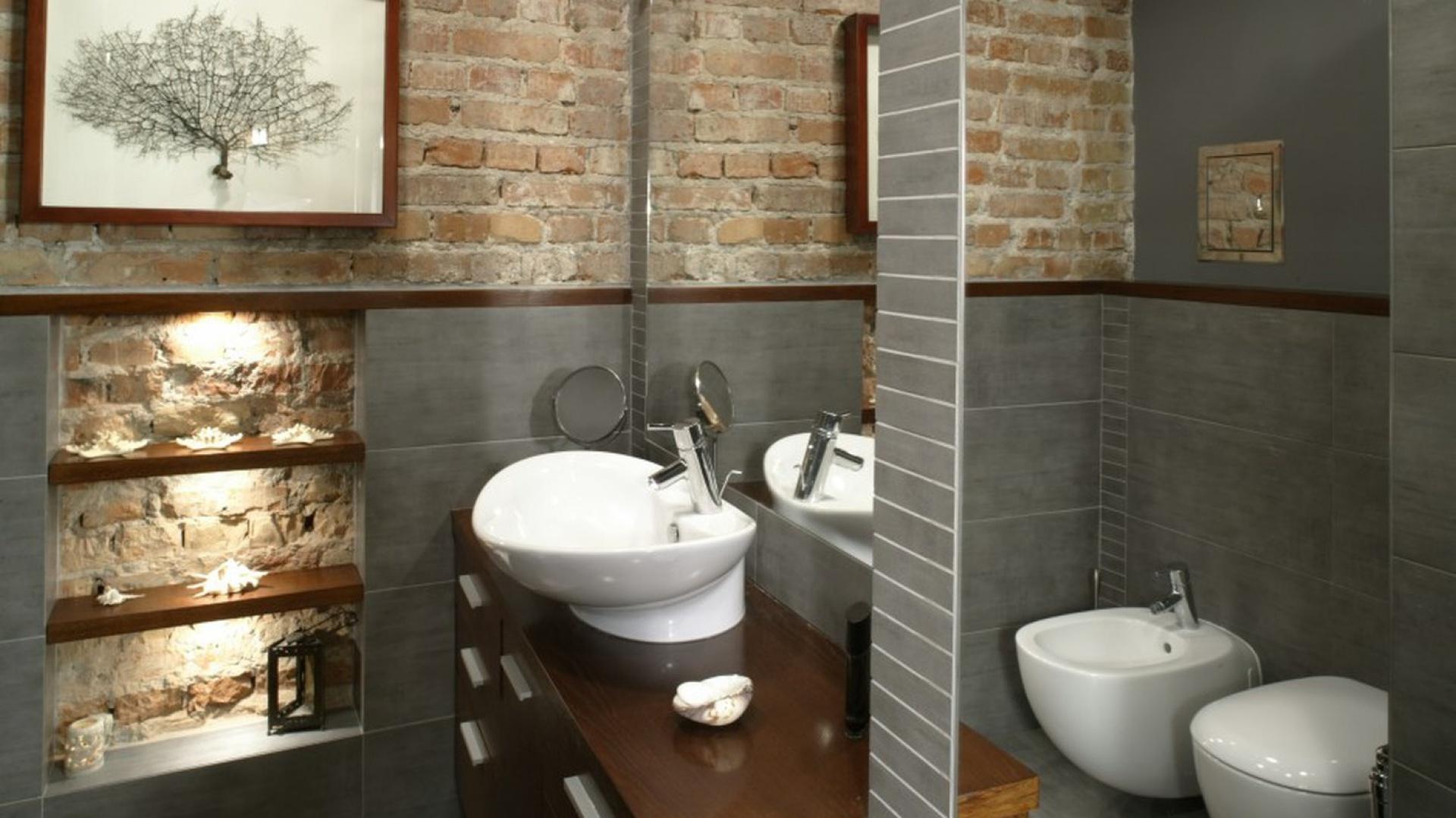 Cegła W łazience Zobaczcie Propozycje Architektów