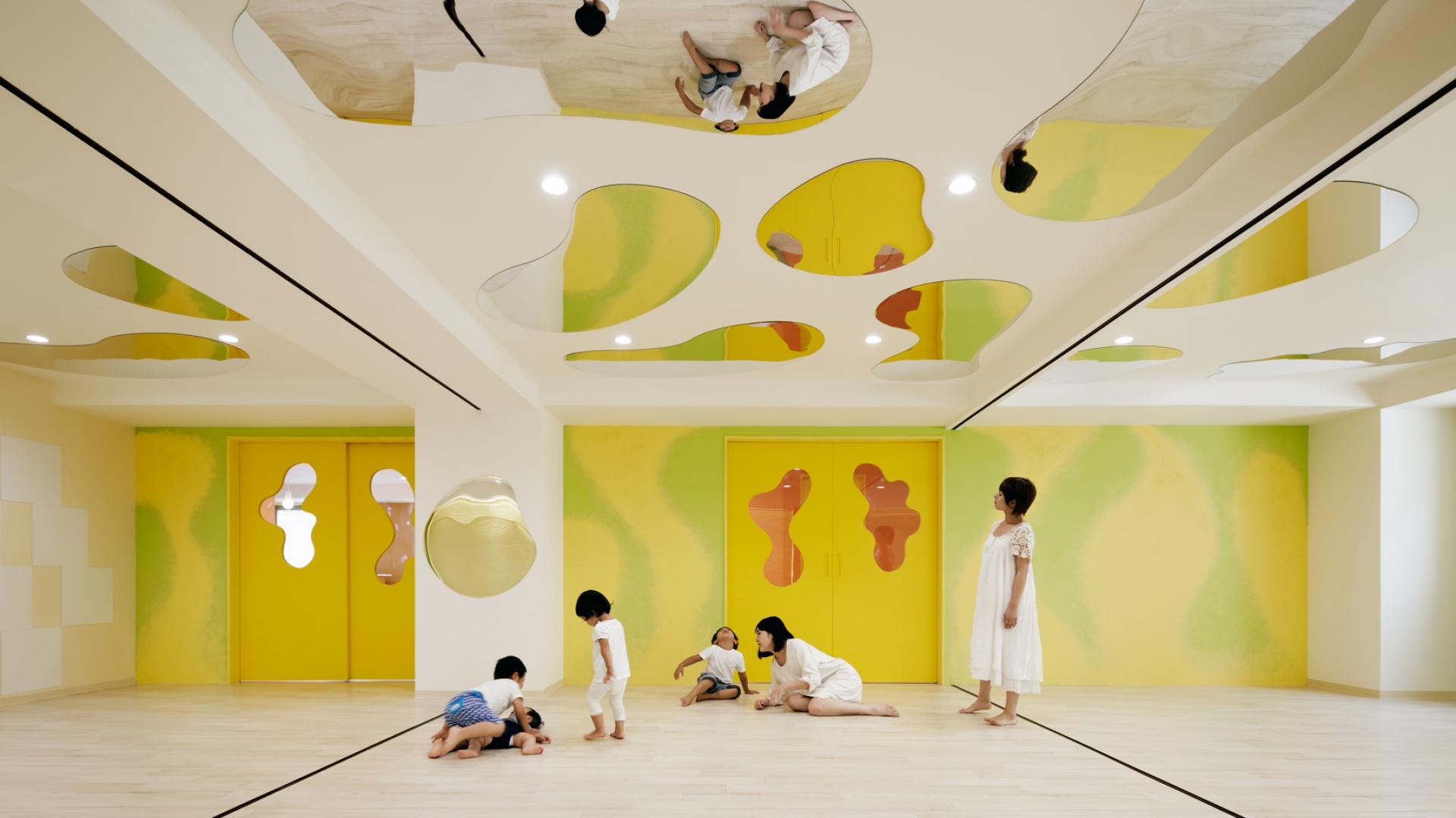 Tokijskie przedszkole LHM zostało oddane do użytku w marcu 2015 roku. Fot. Atsushi Ishida