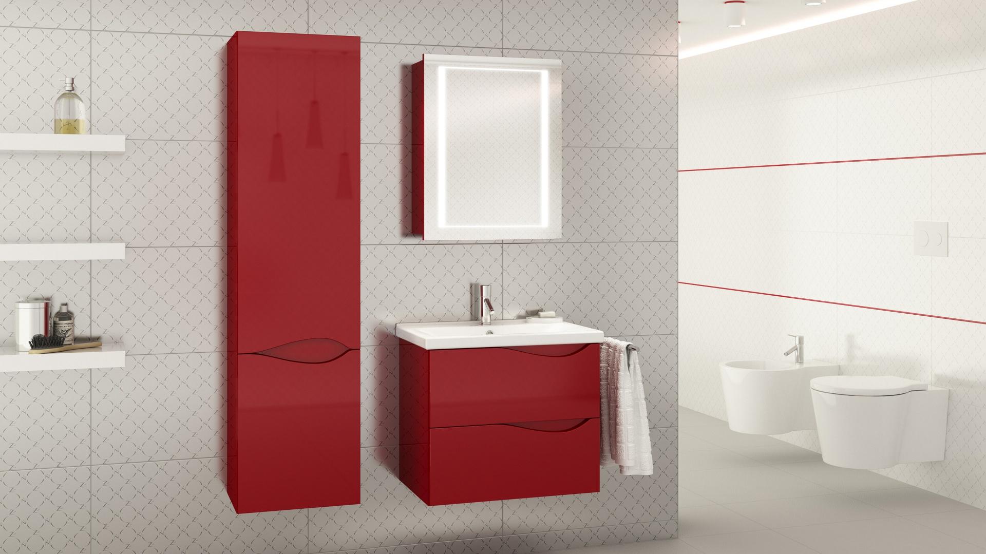 Kolekcja Murcia to ciekawe wzornictwo połączone z kompaktową formą dostosowaną do niewielkich łazienek. Fot. Defra.