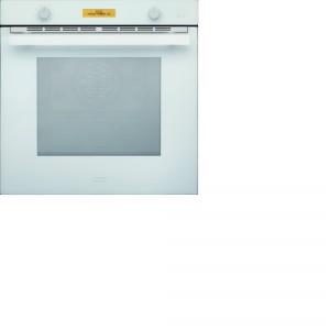 Piekarnik Crystal White CR 981 M WH M DCT wyposażony jest w drzwi potrójnie przeszklone i 2 halogeny oświetlające wnętrze. Fot. Franke.