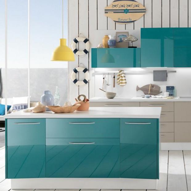 12 pomysłów na kolor w kuchni