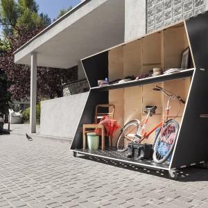 Podczas Gdynia Design Days 2015 goście będą mogli zobaczyć prototypy miejskich mebli. Na zdjęciu projekt outernetowego systemu wymiany X-change. Fot. Gdynia Design Days.