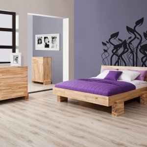 Łóżko X jesionowe z oferty marki Beds.pl.