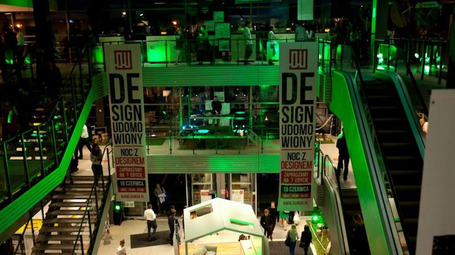 W  wrocławskiej Galerii Wnętrz Domar, 18 czerwca odbyła się  Noc z Designem inaugurująca Design Udomowiony. Hasłem towarzyszącym 7. edycji wydarzenia, był  \