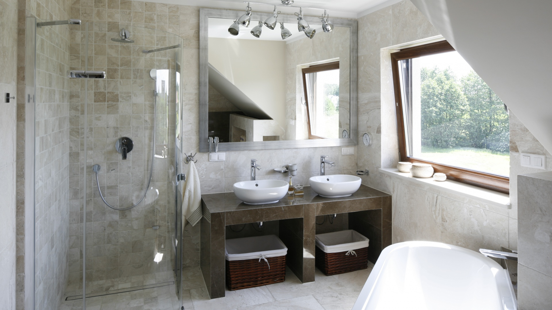 Wanna I Prysznic W łazience Projekty Z Polskich Domów