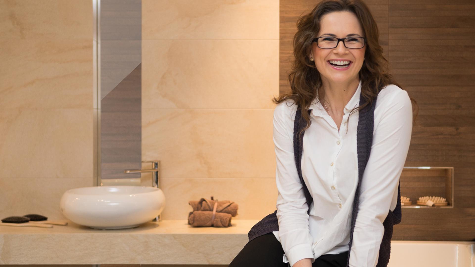 Za przebieg i efekty metamorfozy domu, odpowiedzialna była projektantka Agnieszka Liniewska-Baran. Fot. Max-Fliz