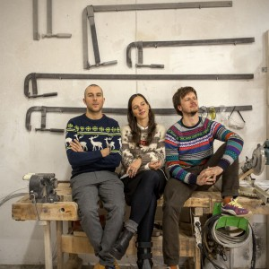 Na zdjęciu: Tomek Kempa, Megi Malinowska i Filip Ludka. Fot. Tabanda.