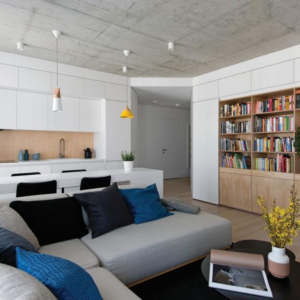 Nowoczesne, jasne wnętrze: mieszkanie w Wilnie