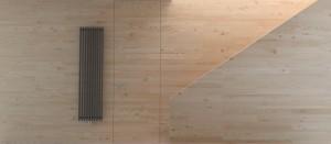 Minimalistyczny, dwupoziomowy apartament w Warszawie