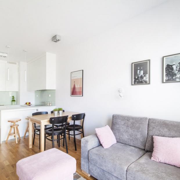 Małe mieszkanie w Krakowie - zobacz jak je urządzono