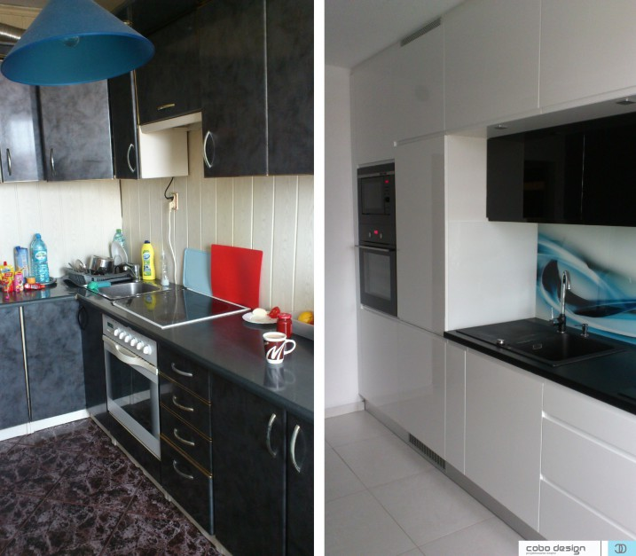 Realizacja Architekta Kuchnia Przed I Po