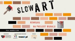 """Konkurs na projekt muralu odbywa się pod hasłem """"Slow Art"""". Wygrana koncepcja zostanie zobrazowana na jednej ze ścian w przestrzeniach warszawskich """"Pawilonów"""". Konkurs jest jedną z części projektu Slow Art Event, a jego idea ma na celu pro"""