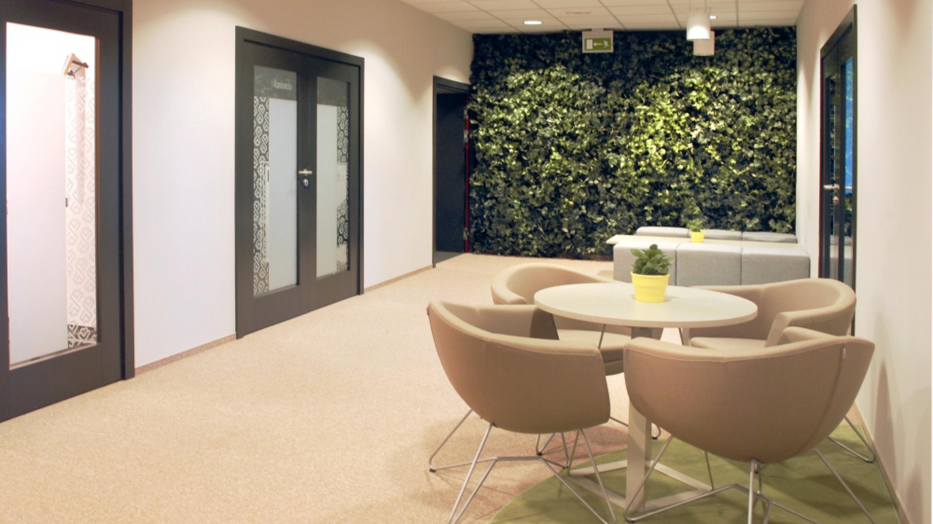 Siedziba Millward Brown Polska S.A. to projekt wnętrz biurowych, zajmujących 3063 m². Fot. Pracownia A+D