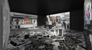 Przestrzeń Sali Regionów zostanie wypełniona scenografią oddającą tkankę Łodzi, jej plan i najważniejsze obiekty. Scenografia pokaże skalę miasta, jego ważne punkty. Projekt opracowany przez warszawskie studio architektoniczne zakład