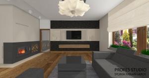 salon dom pod Warszawą