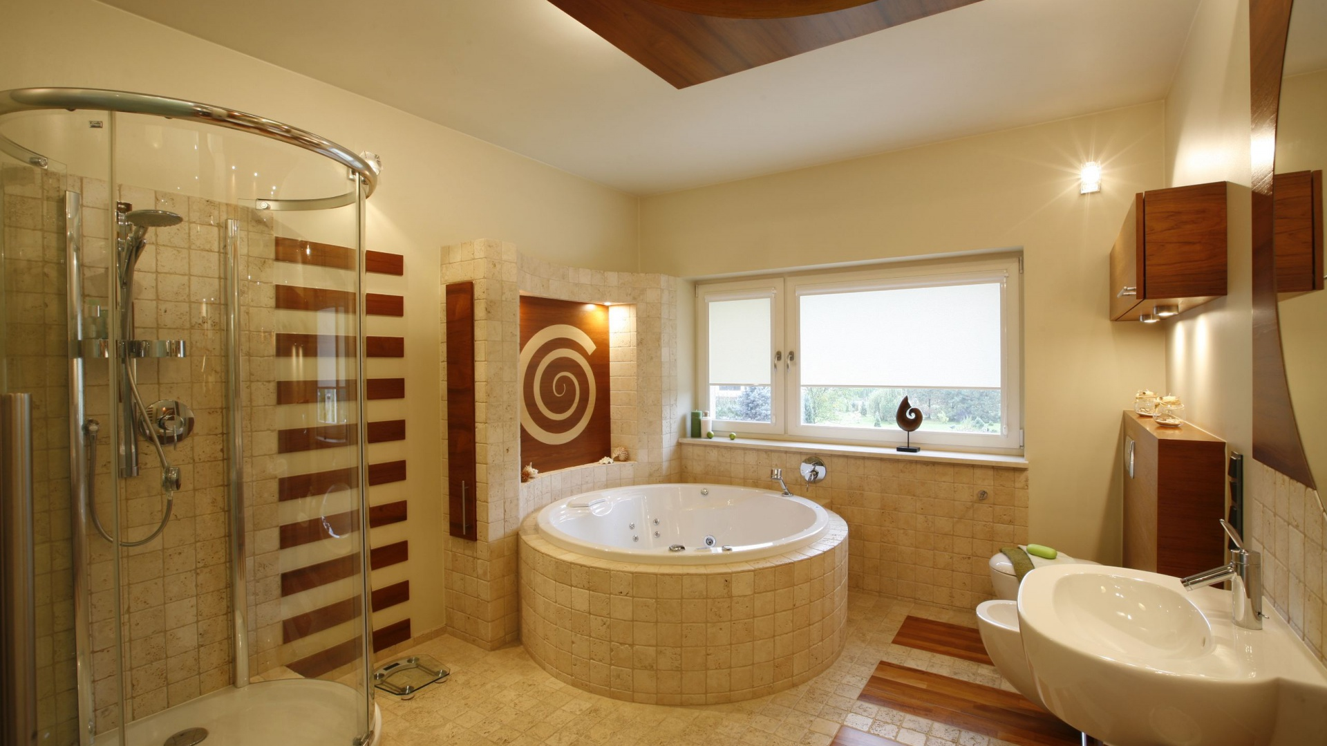 łazienki W Beżach I Brązach Tak Urządzisz Domowe Spa