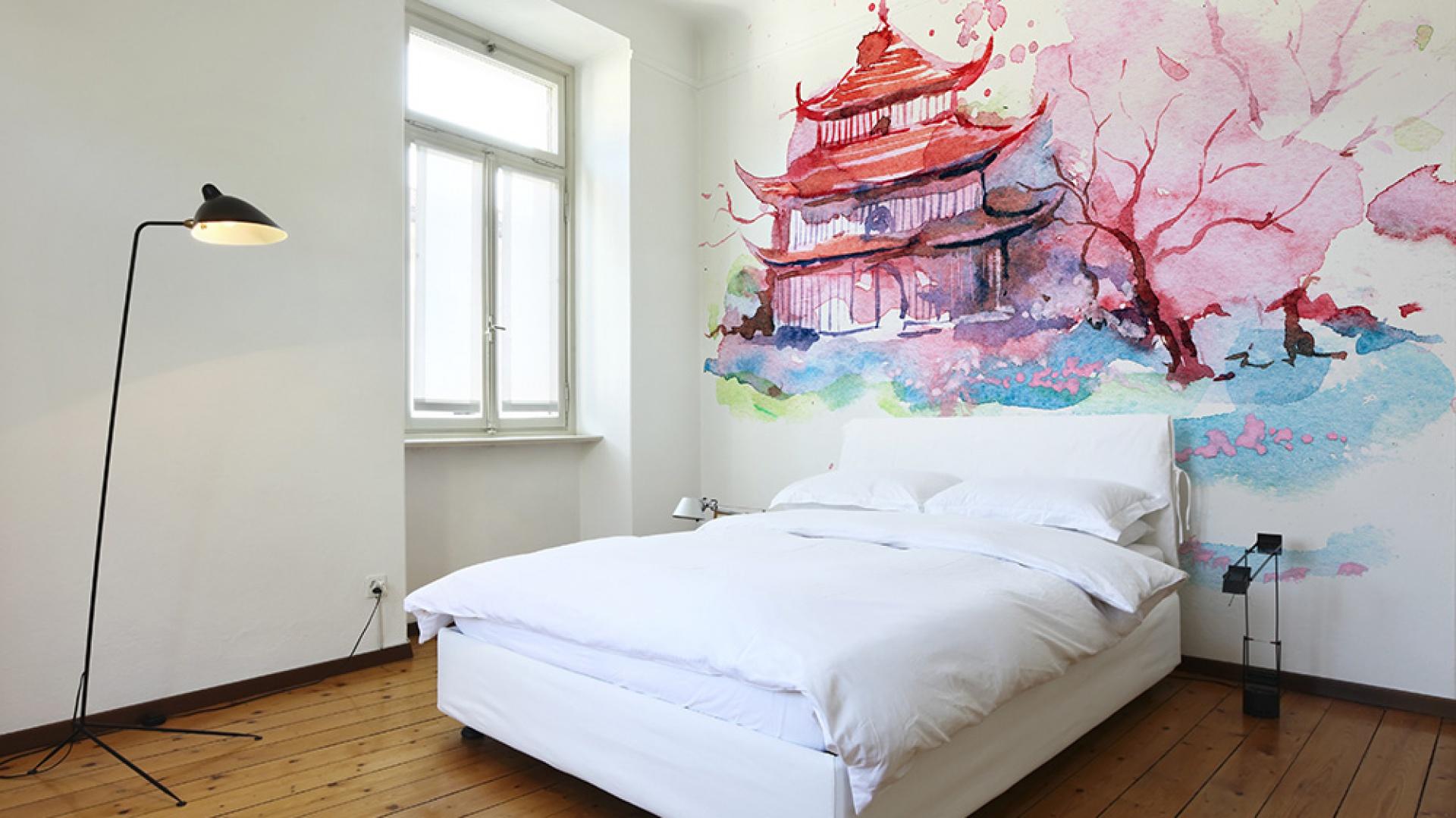 Kolor W Sypialni Pomysły Na ścianę Za łóżkiem
