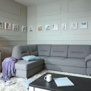 Narożnik Alanis marki Black Red White zapewni komfortową przestrzeń wypoczynku dla całej rodziny. Przestronny i wygodny mebel pozwoli wygodnie zasiąść przed ekranem telewizora lub stronami ulubionej książki. Fot. Black Red White.