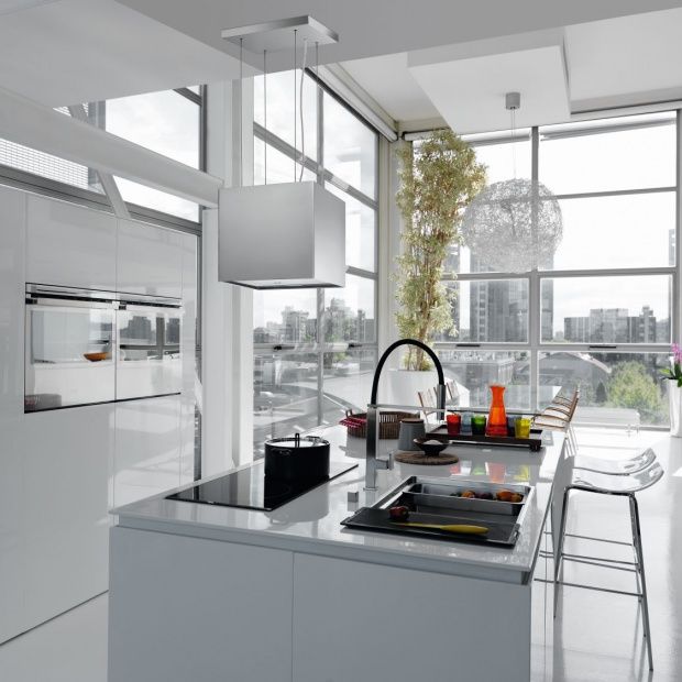 Modna kuchnia: wybierz do niej okap