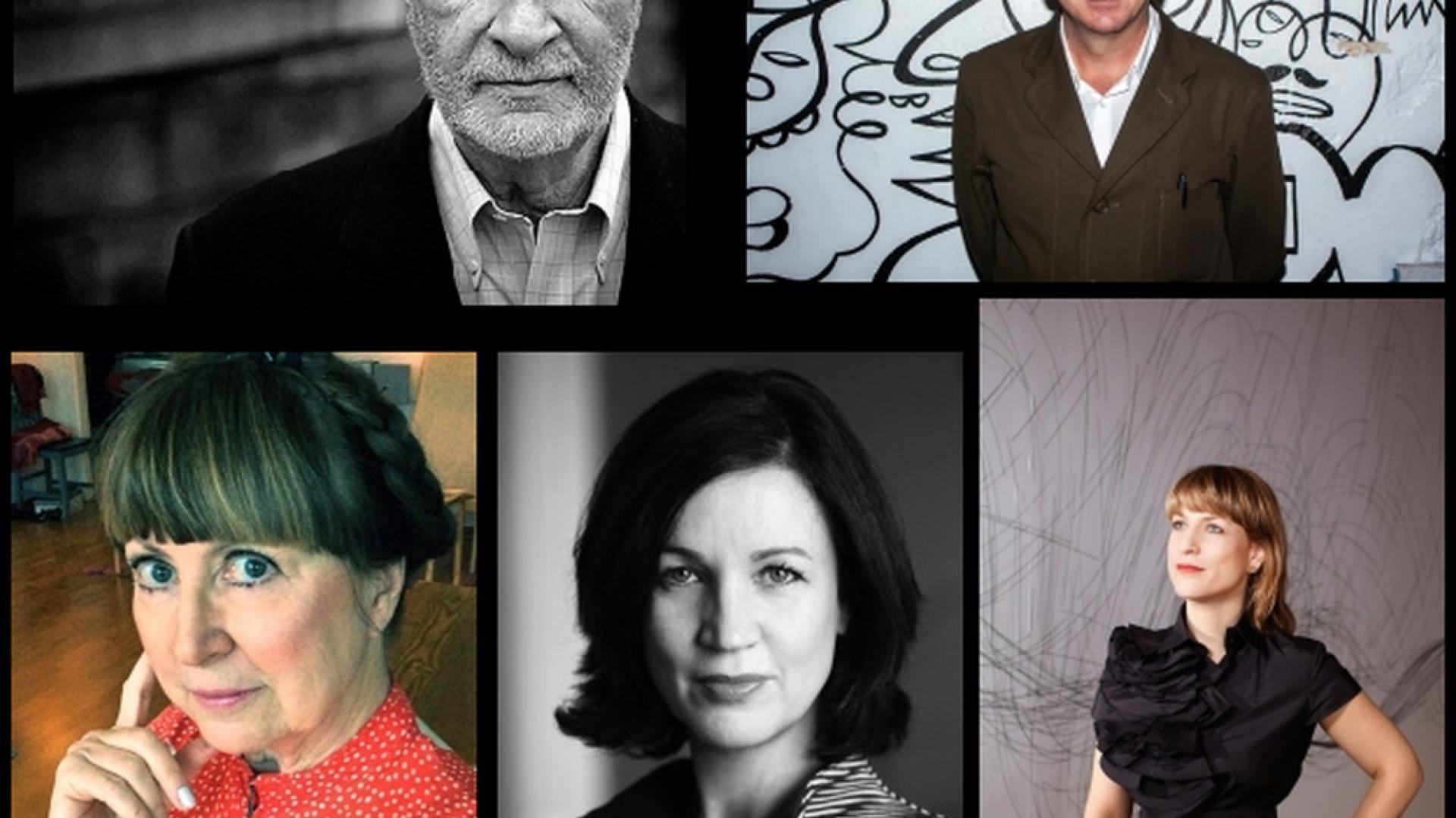 Prelegenci debaty w ASP, Gianni Vattimo, Guy Julier, Maria Benktzon, Alison J. Clarke, Zoë Ryan.  Fot. Materiały prasowe