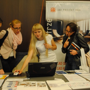 Jakie możliwości mają programy do projektowania, pokazuje architektom oraz projektantom wnętrz Małgorzata Kubaszewska z firmy CAD Projekt K&A.