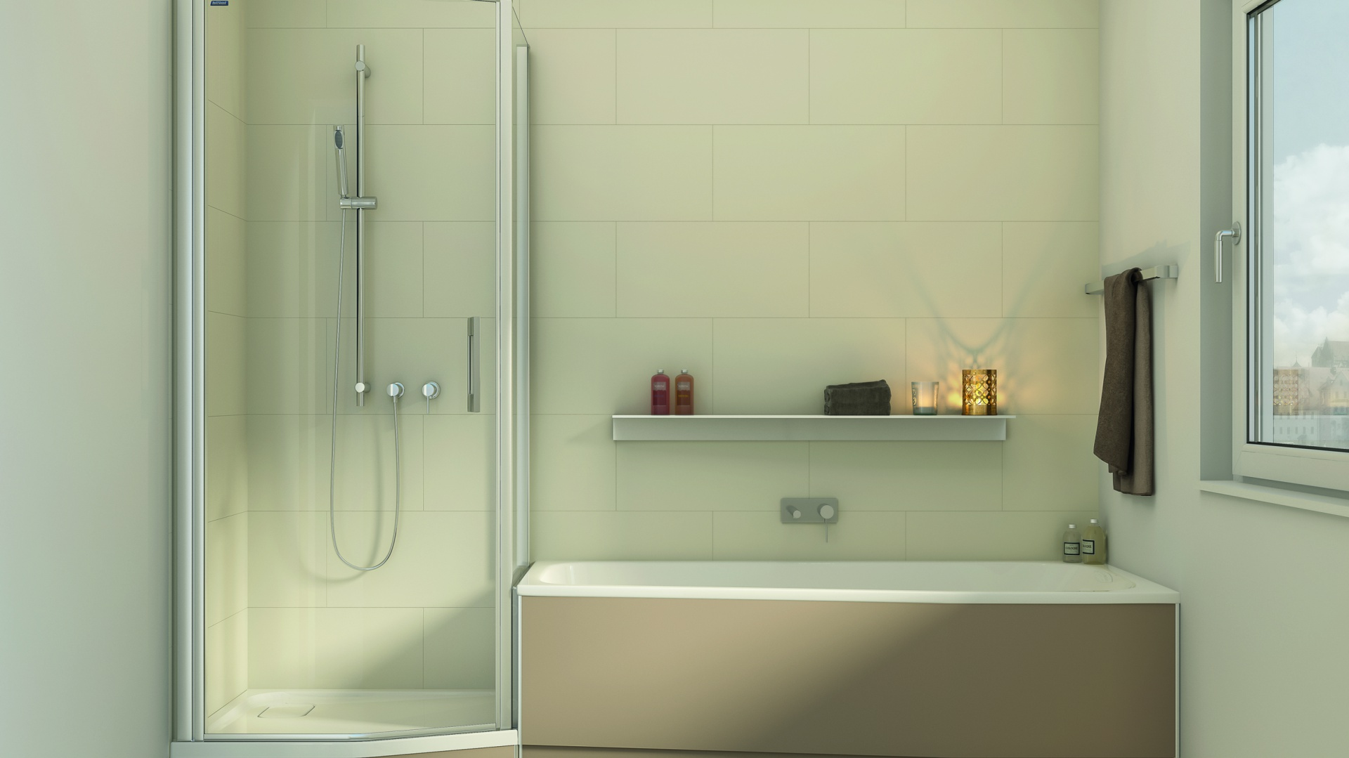 Mała łazienka Tak Połączysz Wannę Z Prysznicem