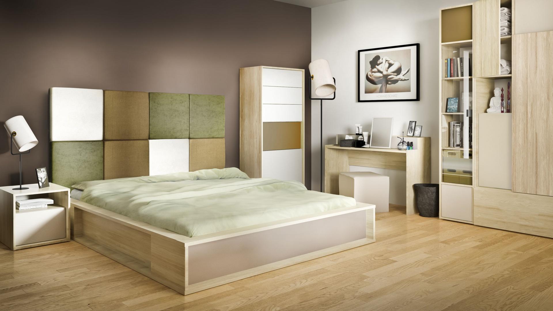 Sypialnia 3D to nietypowa kolekcja, którą można zaprojektować według własnych potrzeb. Duży wybór wybarwień oraz brył daje szerokie możliwości aranżacji wnętrza. Fot. Vox