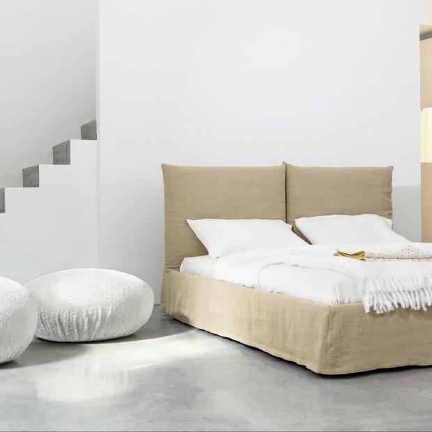Meble do sypialni. Zobacz modne łóżka tapicerowane