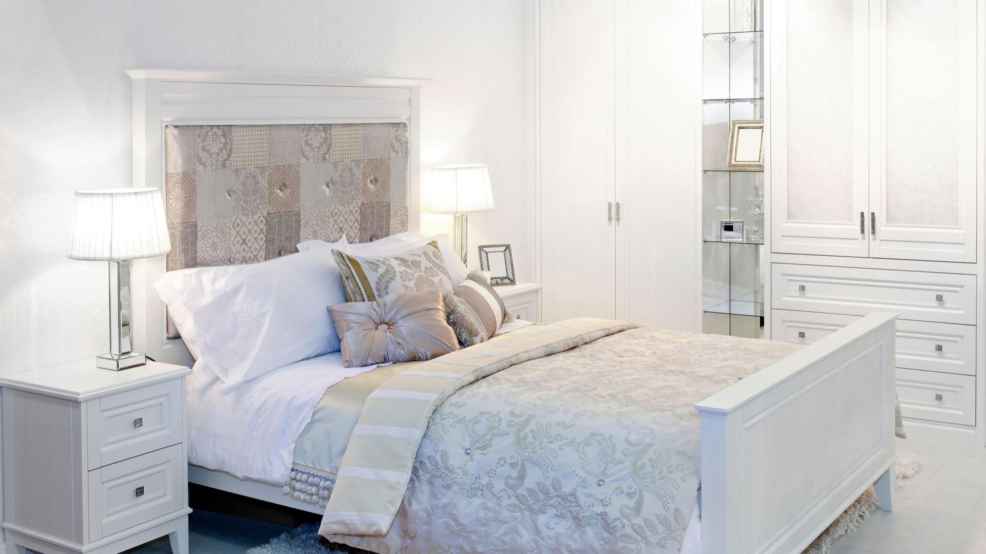 Piękna Sypialnia Modne Pomysły Na ścianę Za łóżkiem