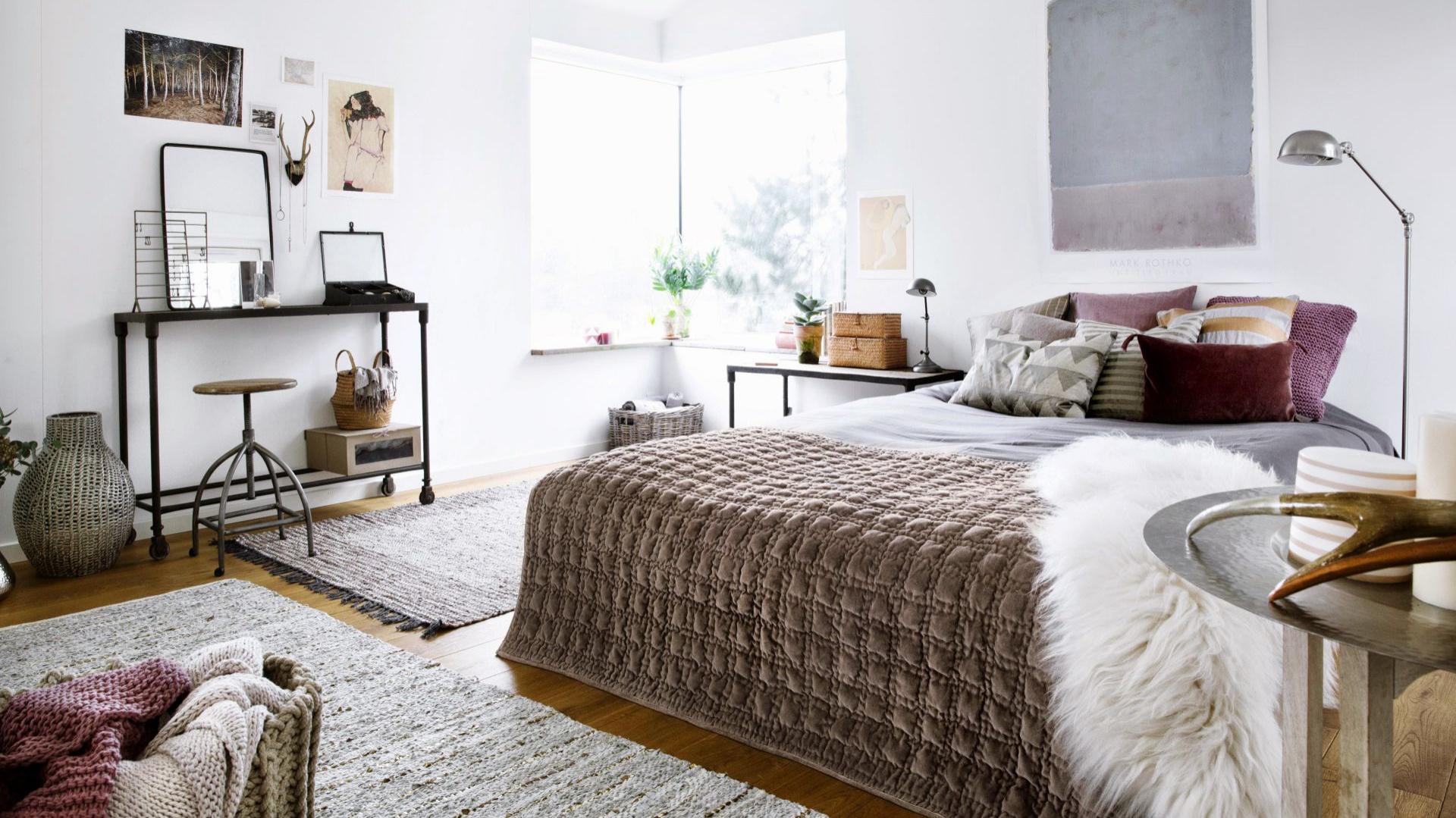 Piękna Sypialnia Zobaczcie Wyjątkowe Sposoby Dekoracji łóżka