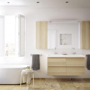 Lustro z kolekcji Godmorgon  z oferty IKEA to model, który pomoże optycznie powiększyć wnętrze. Fot. IKEA.