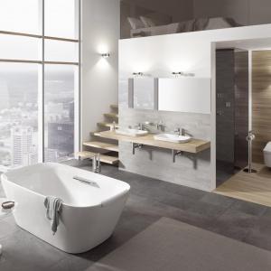 Toaleta z funkcją bidetu Neorest Washlet Toto ma różne opcje mycia, automatyczne podnoszenie pokrywy, programowanie ustawień, oświetlenie nocne, dezynfekcję. Fot. Toto.