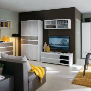 Kolekcja mebli modułowych Possi pozwala samodzielnie zaplanować salon, jadalnię i sypialnię. Fot. Black Red White.