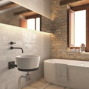 W patchworkowe wzory - płytki ceramiczne jak cegły Bolevard firmy Vives Ceramica. Fot. Vives Ceramica.