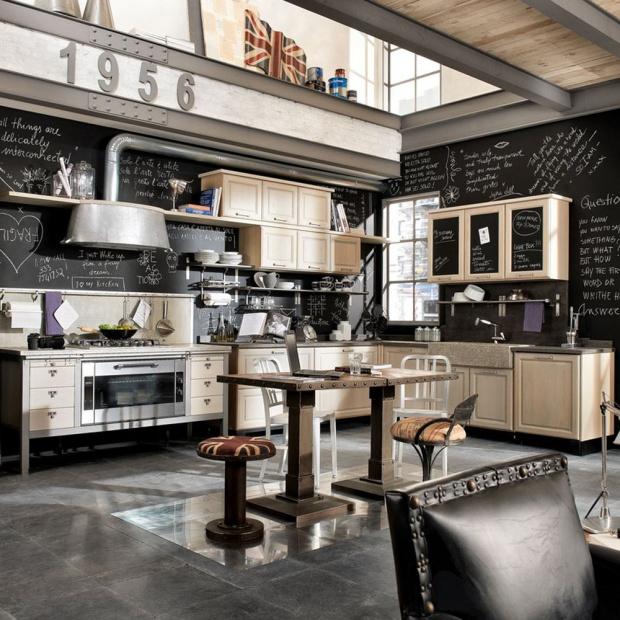 Urządzamy kuchnię: postaw na styl vintage