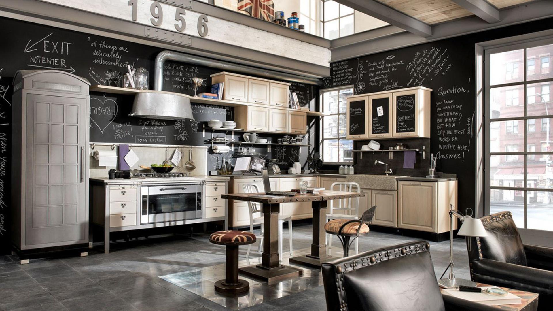Zabudowa lod wki jak stara urz dzamy kuchni postaw - Campana cocina industrial ...
