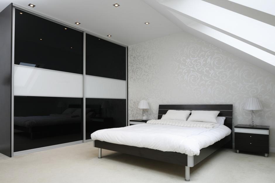 Sypialnia urządzona w...  Szafa w sypialni: pomysły projektantów  Strona: 6