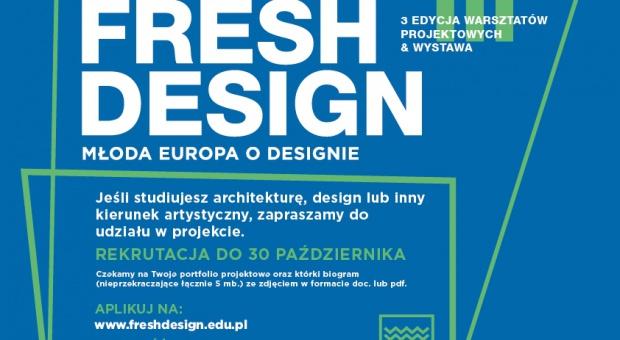 Zgłoś się do 3. edycji Fresh Design