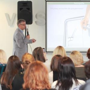 Prezentacja firmy Hansgrohe była poświęcona nowościom marek Hansgrohe oraz Axor.