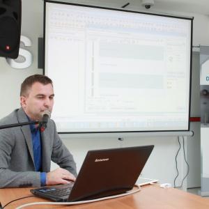 O możliwościach wykorzystania programów komputerowych firmy CAD Projekt K&A w pracy architekta i projektanta wnętrz mówił Marek Krzaczkowski.