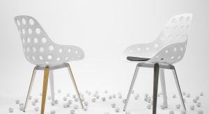 Krzesło Slice Holes to projekt Sander Mulder.