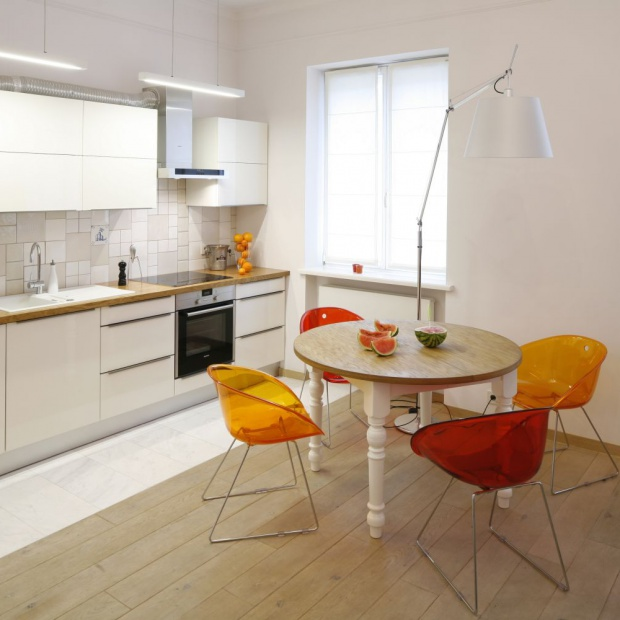 Małe mieszkanie: jak oddzielić kuchnię od salonu