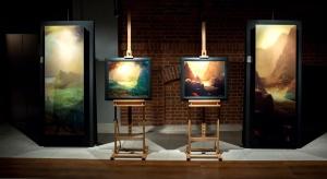 Grzejnik Inventio z kolekcji Ciepło i sztuka wykonany jest z wyselekcjonowanej stali precyzyjnej, z ekranem nadrukowanym pokrytym szkłem.