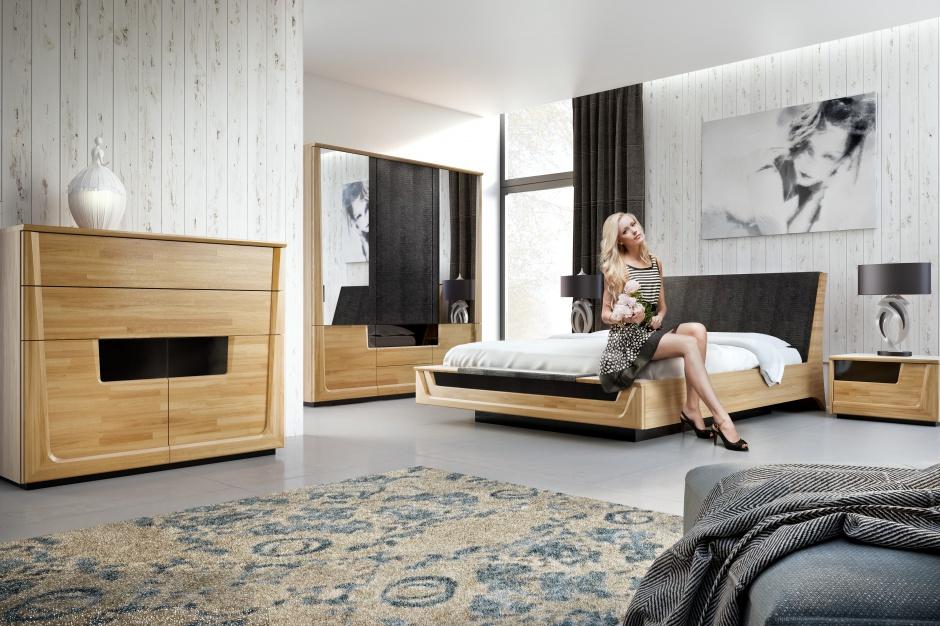 Sypialnia Meganda to...  Nowoczesna sypialnia. 12 pięknych kolekcji mebli