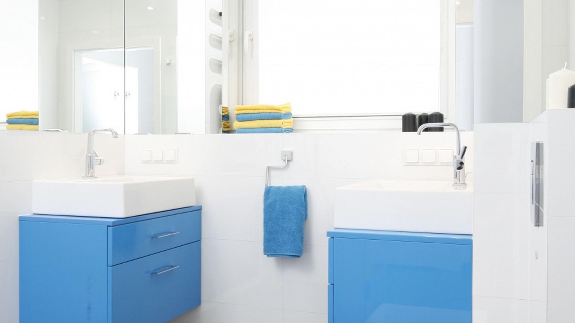Białe łazienki Propozycje Polskich Architektów