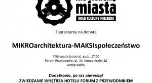 Targi designu, bogata oferta warsztatów, spotkań z ekspertami z Polski i z zagranicy to pokrótce streszczenie imprezy dla amatorów architektury i designu, która odbędzie się w dniach 6 – 8 listopada 2015 roku w Krakowie.