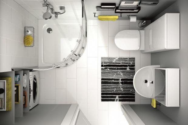 12 pomysłów na wąską łazienkę